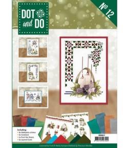 LIVRET KIT 3D DOT AND DO THE BEST CHRISTMAS EVER DODOA6012