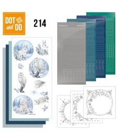 KIT 3D DOT AWESOME WINTER - WINTER ANIMAL - DODO214