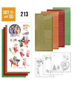 KIT 3D DOT THE HEART OF CHRISTMAS - DODO213