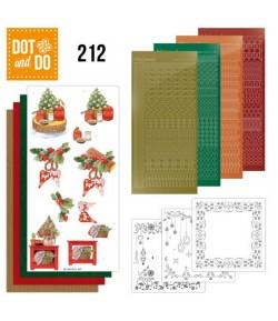 KIT 3D DOT CHRISTMAS COTTAGE - DODO212