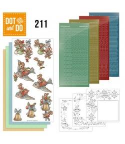 KIT 3D DOT HAVE A MICE CHRISTMAS - DODO211