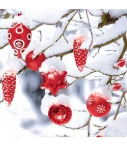 SERVIETTE WINTER SNOWY