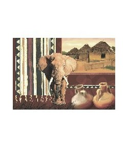 PAPIER DE RIZ ELEPHANT 35 X 50 CM