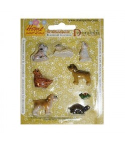 ASSORTIMENT 8 PETITS ANIMAUX