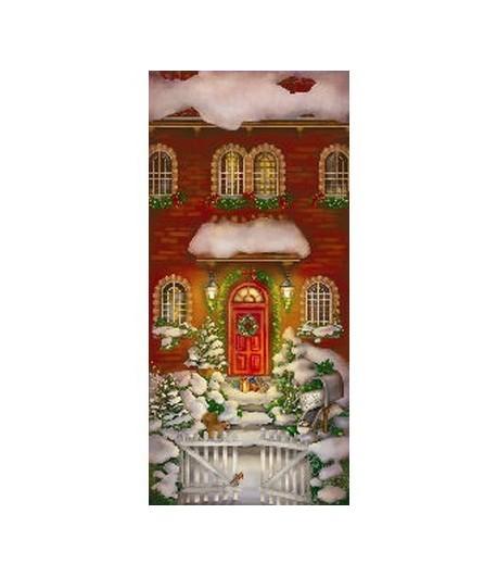 PAPIER DE RIZ WELCOME CHRISTMAS 23 X 50 CM