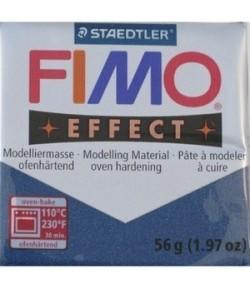 FIMO SOFT BLEU SAPHIR METAL