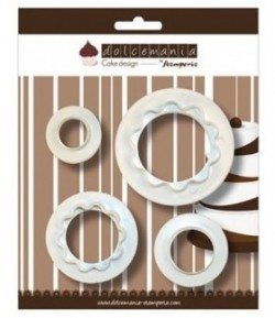 SET 4 EMPORTE-PIECES DECO DOUBLES