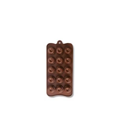 MOULE SILICONE CHOCOLAT - CLASSIQUE