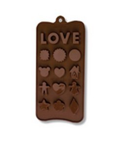 MOULE SILICONE CHOCOLAT - LOVE
