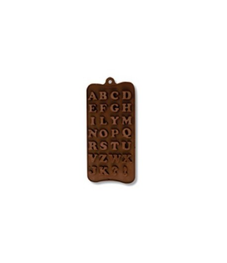 MOULE SILICONE CHOCOLAT - ALPHABET