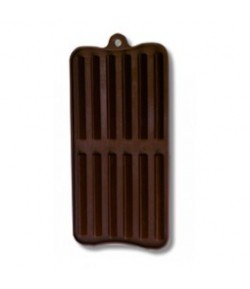 MOULE SILICONE CHOCOLAT - 12 BARRES
