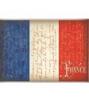PAPIER DE RIZ A4 DRAPEAU FRANCE 21 X 29.7 CM