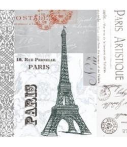 SERVIETTE PARIS RUE PERNELLE
