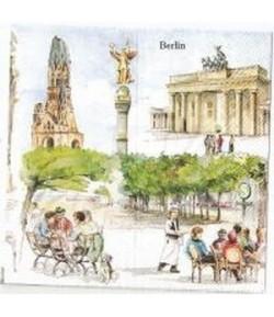 SERVIETTE LES DECORS DE BERLIN