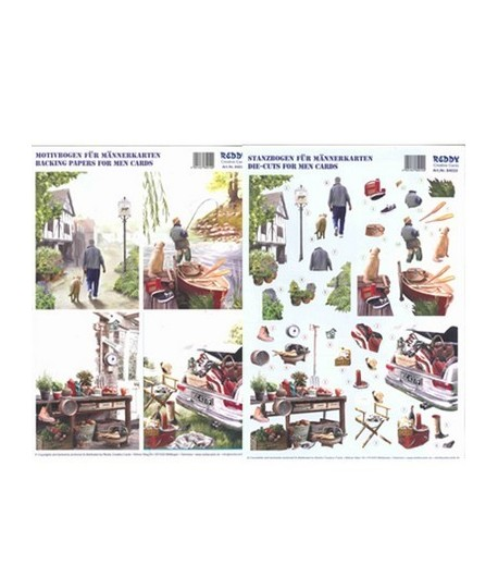 FEUILLE 3D LOISIRS 84010
