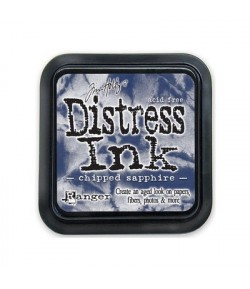ENCRE DISTRESS CHIPPED SAPPHIRE