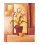 IMAGE 3D TULIPES BLANCHES 24X30 9707032