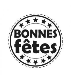 TAMPON BOIS BONNES FETES