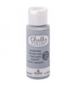 CHALKY GLASS 59ML GRIS GRANITE