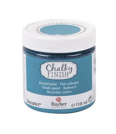 CHALKY FINISH 118ML BLEU LAGON