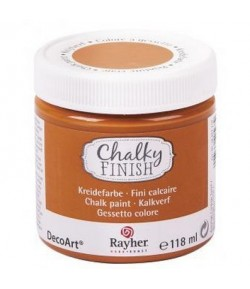 CHALKY FINISH 118ML ORANGE FONCE