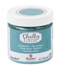 CHALKY FINISH 118ML TURQUOISE D'INDE