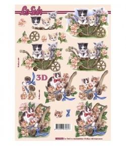 IMAGE 3D COQUELICOTS 30X30 GK3030034