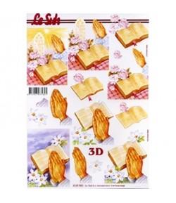 IMAGE 3D 24X30 DALHIA GK2430051