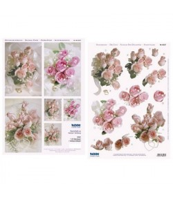 IMAGE 3D 30X30 ORCHIDEE BLANCHE GK3030030