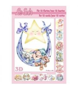 IMAGE 3D FLEUR ROSE NAVF46