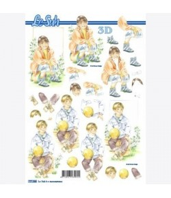 FEUILLE 3D ENFANTS 777.568
