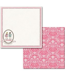 PAPIER BEST FRIENDS 30.5 X 30.5 CM - CARTA BELLA TRUE FRIENDS