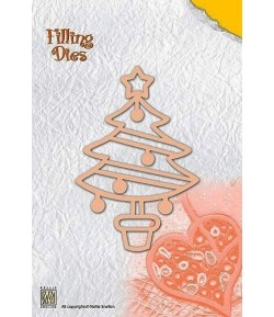 DIE QUILLING SAPIN - QD007