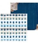 PAPIER TRANQUIL 30.5 X 30.5 CM - BO BUNNY SLEIGH RIDE