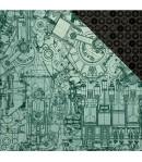 PAPIER MECHANISM 30.5 X 30.5 CM - KAISERCRAFT TIME MACHINE