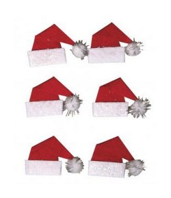 STICKERS DECO SANTA'S HAT