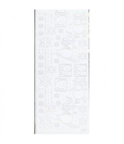 STICKERS BONHOMME DE NEIGE 501131