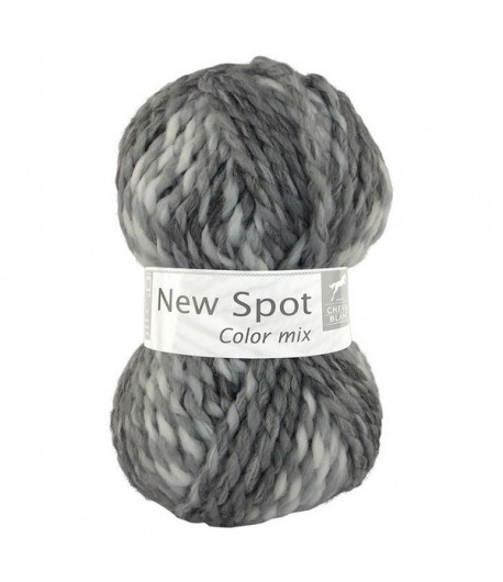 LAINE NEW SPOT COLOR MIX GRIS CLAIR (401)