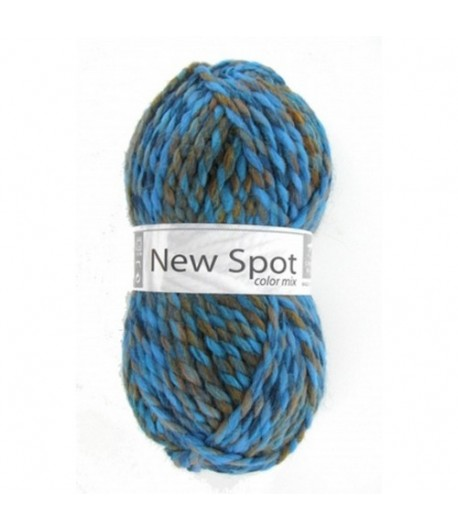 LAINE NEW SPOT COLOR MIX BLEU/ORANGE (409)