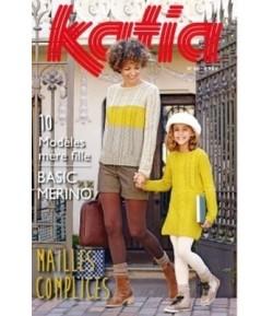 LIVRET TRICOT KATIA N°86 - BASIC MERINO