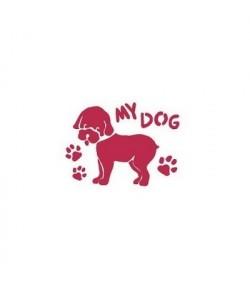 POCHOIR MY DOG 20 X 15 CM