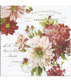 SERVIETTE SEASON FLOWERS
