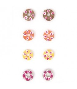 STICKERS QUILLING DONUTS