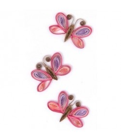 STICKERS QUILLING PAPILLONS
