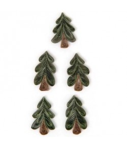 STICKERS QUILLING SAPINS