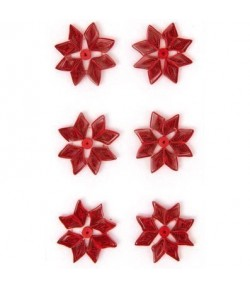 STICKERS QUILLING POINSETTIA