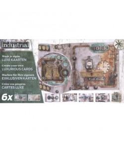 BLOC 3D 6 CARTES INDUSTRIEL IN04 STUDIO LIGHT