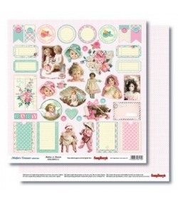 PAPIER BUTTONS & BONNETS - MOTHER'S TREASURE SCRAPBERRY