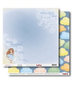 PAPIER IN THE CLOUDS - SWEETHEART SCRAPBERRY'S