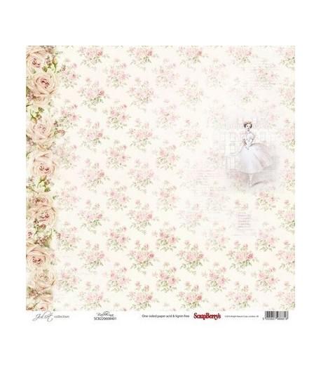 papier de riz roses 35x50 doigts de f es. Black Bedroom Furniture Sets. Home Design Ideas